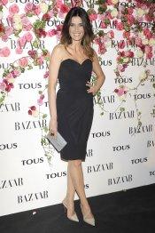 Elia Galera con palabra de honor en la presentación del perfume de Tous, Rosa