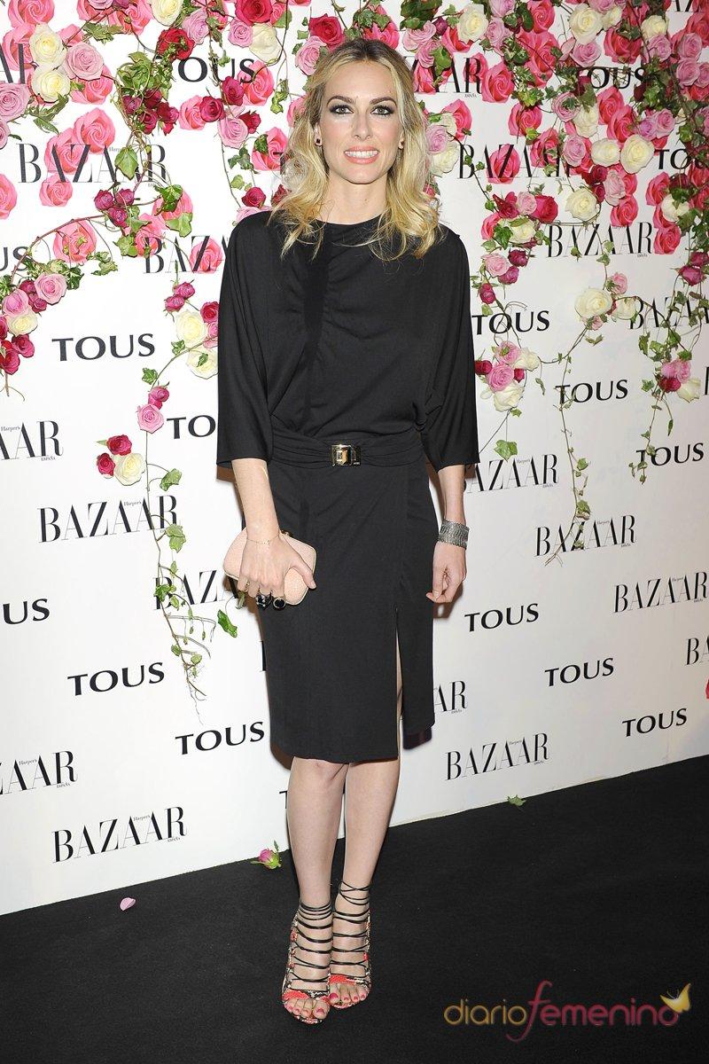 El vestido de Kira Miró en la presentación del perfume de Tous 'Rosa'