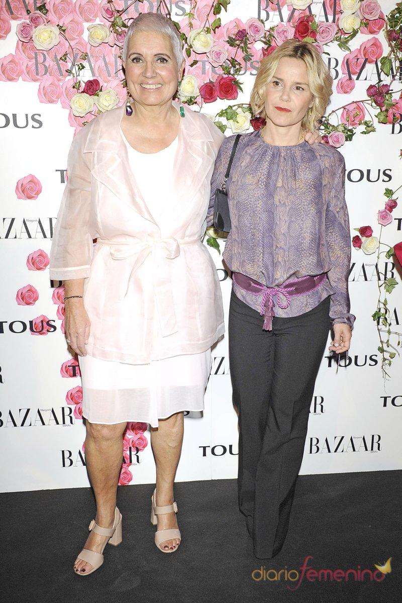 Eugenia Martínez de Irujo y Rosa Oriol presentan el perfume de Tous 'Rosa'