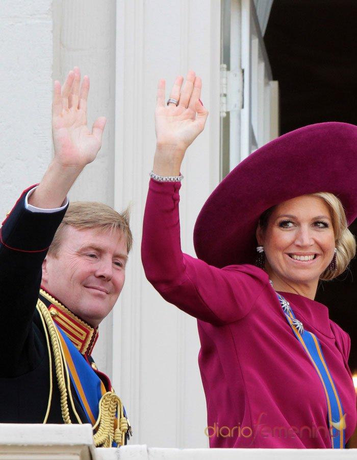 Guillermo de Holanda y Máxima Zorreguieta, los Reyes
