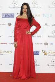 El look de Xenia Tostado durante los Premios Iris 2013