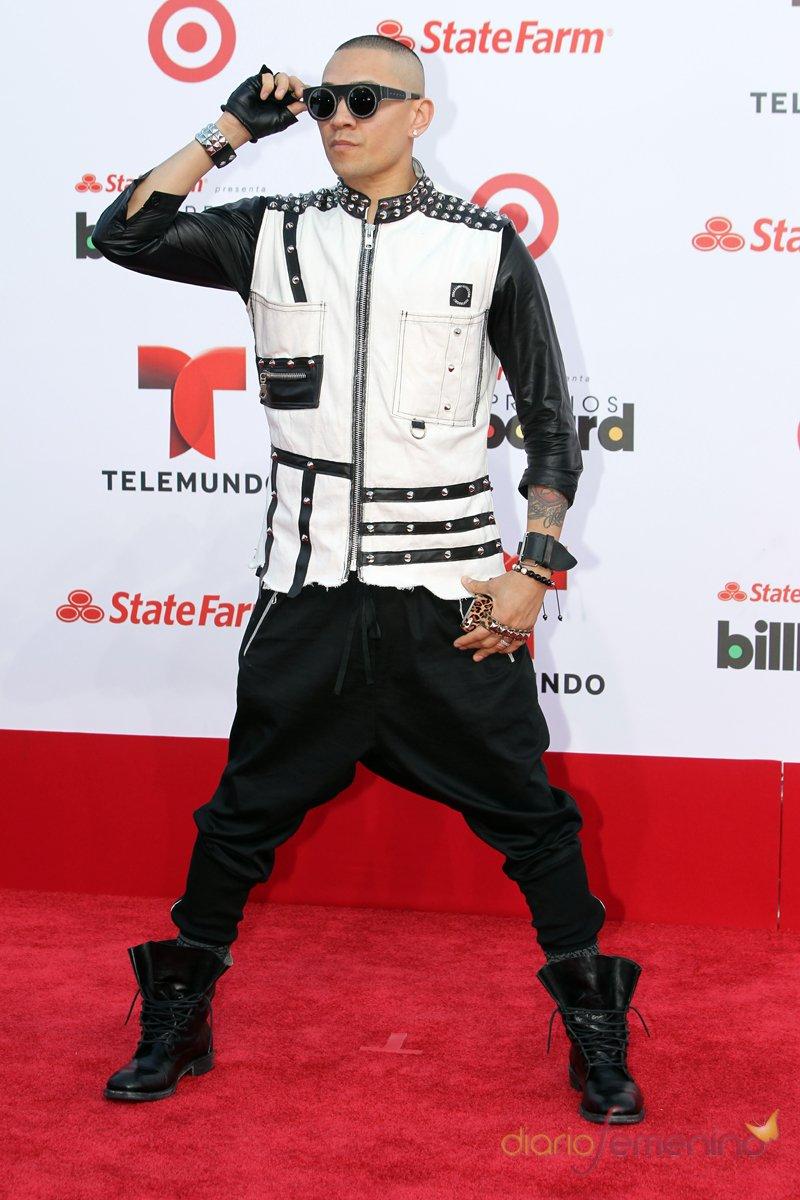 Taboo, integrante de The Black Eyed Peas, en la gala Billboard Latinos 2013