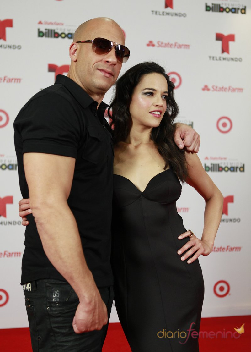 Vin Diesel y Michelle Rodriguez, invitados de lujo a los Billboard Latinos 2013