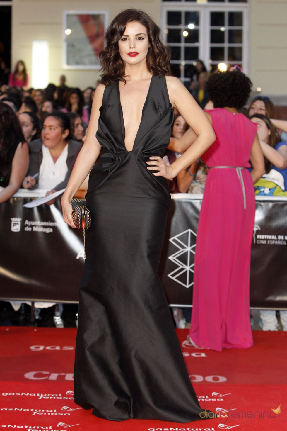 Marta Torné en la alfombra roja del Festival de Málaga 2013