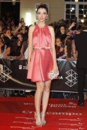 Leticia Dolera en la alfombra roja del Festival de Málaga 2013