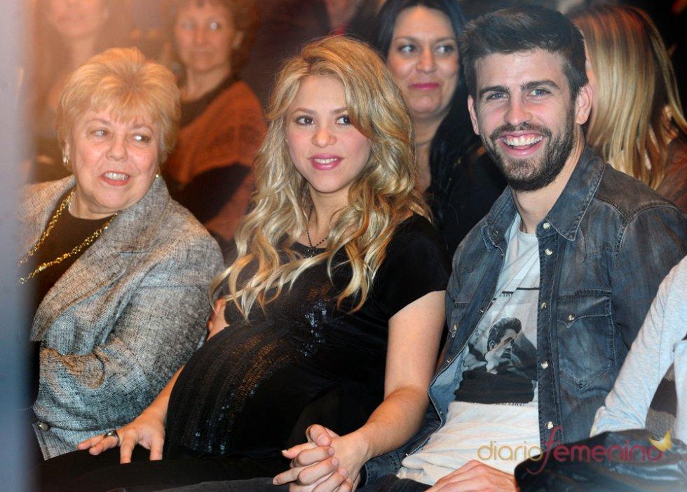 Shakira embarazada con Piqué