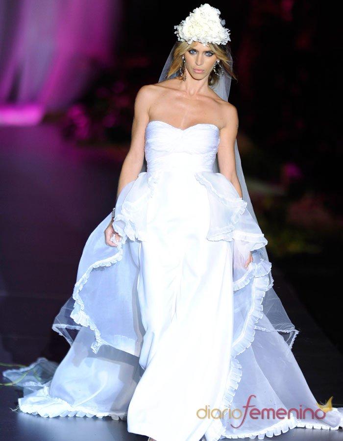 El vestido de novia de Montesinos