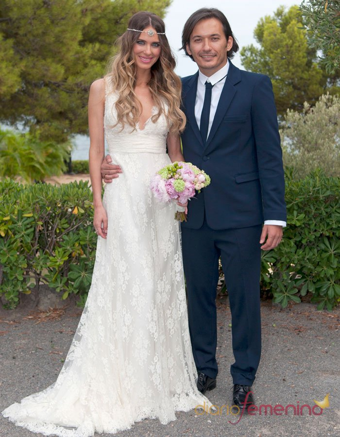 Vestidos de novia famosos: el traje de boda de Vanesa Romero