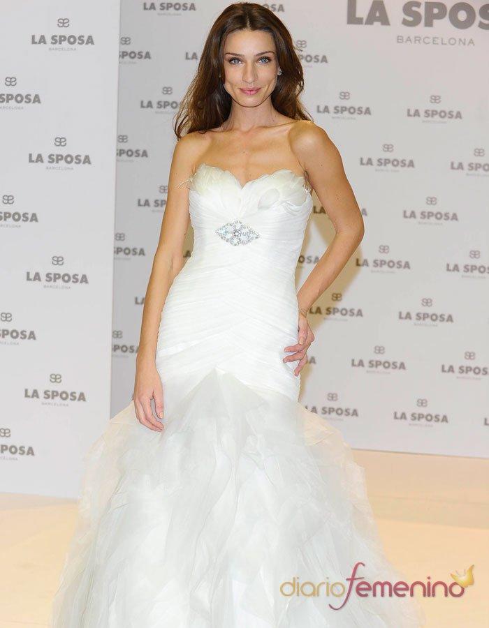 Vestidos de novia: un traje de boda sencillo y elegante