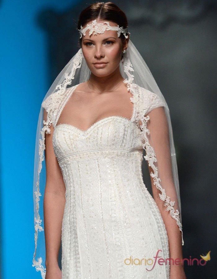 Vestidos de novia: cómo elegir el velo del traje de boda