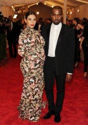 El look de Kim Kardashian en la gala MET 2013 dedicada a la estética Punk