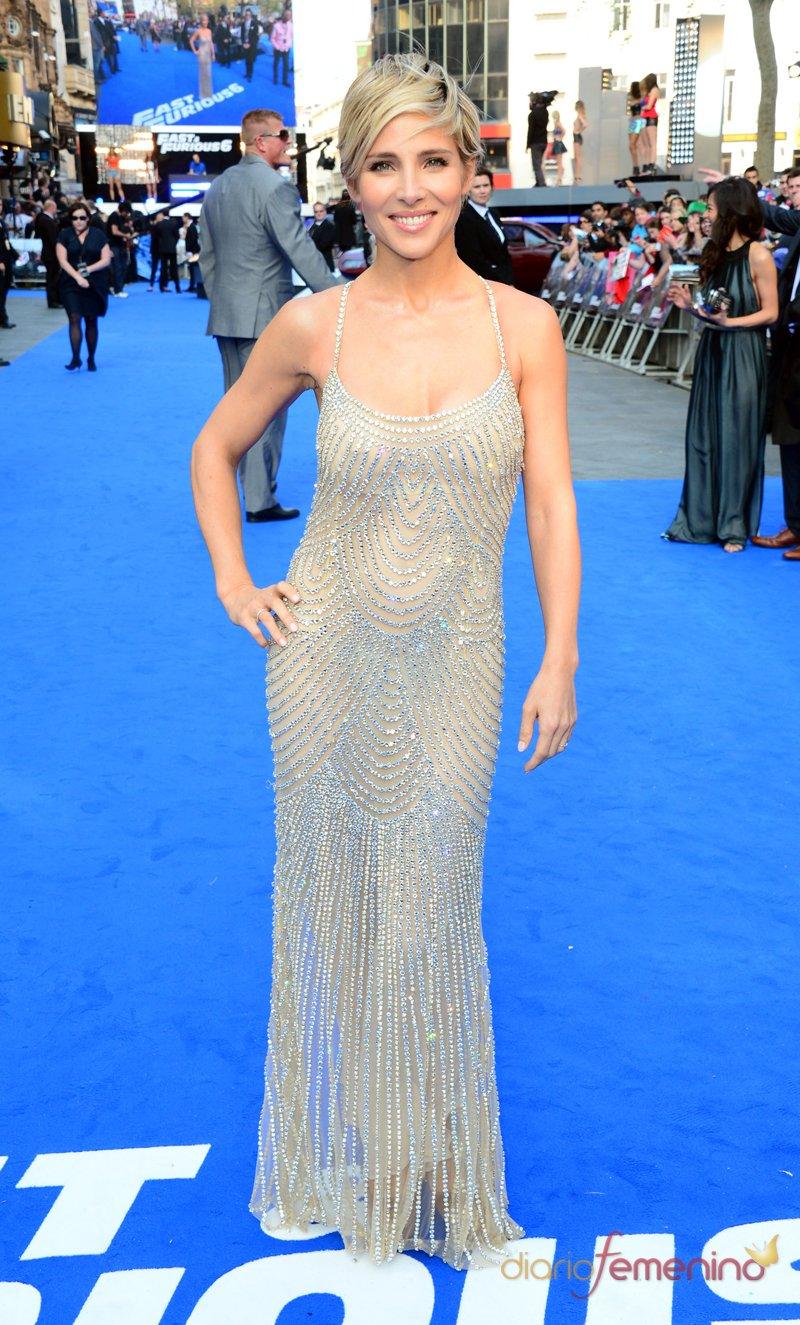 Espectacular vestido de Elsa Pataky en la presentación de 'Fast And Furious 6' en Londres
