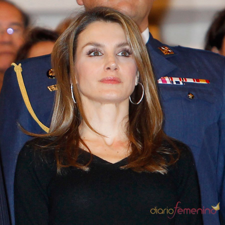 Las caras de la princesa Letizia: máxima profesionalidad