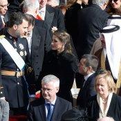 El sonado mal gesto de la princesa Letizia con el Papa Francisco