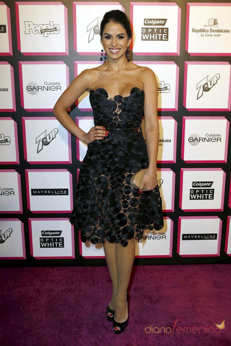 Nuestra Belleza Latina 2012, Vanessa de Roide, en la alfombra roja de la fiesta de People en español
