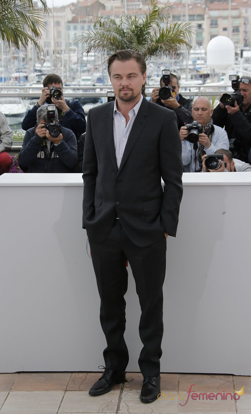 Leonardo DiCaprio, protagonista de 'El Gran Gatsby', en el Festival de Cannes 2013