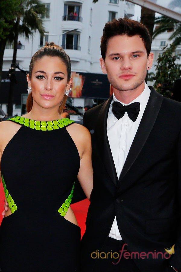 Blanca Suárez y Jeremy Irvine, en el Festival de Cannes 2013