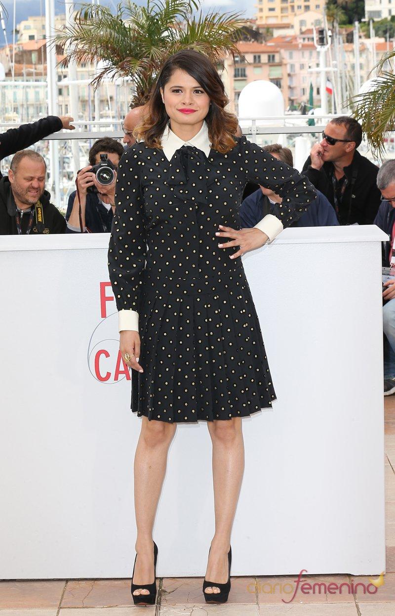 El look de Melonie Diaz en el Festival de Cannes 2013