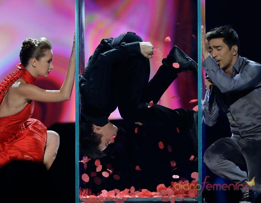 Festival de Eurovisión 2013: Azerbaiyán y su asfixiante actuación