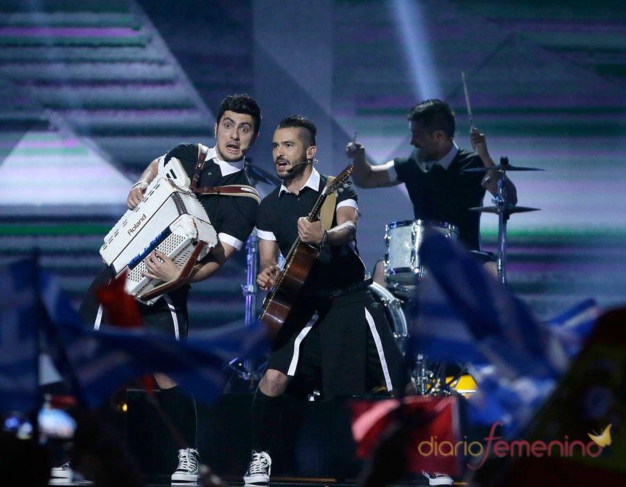 Festival de Eurovisión 2013: la banda rockera de Grecia en Suecia