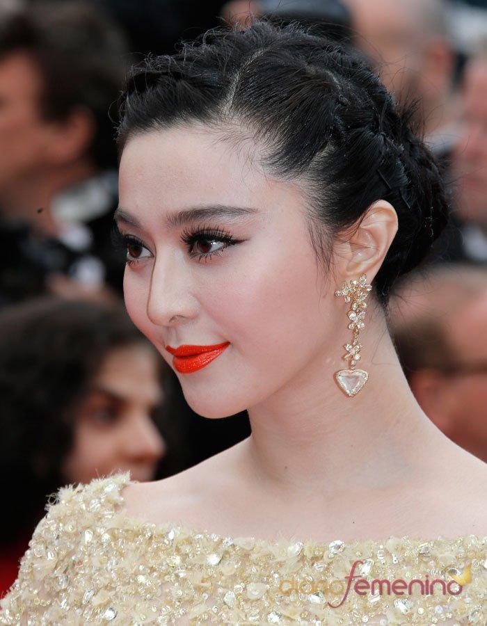 La actriz Fan Bing Bing, diosa dorada en el Festival de Cannes 2013