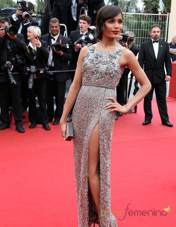 El vestido de Freida Pinto, en el Festival de Cannes 2013