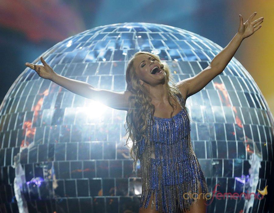 Eurovisión 2013: La cantante de Bielorrusia en la actuación final