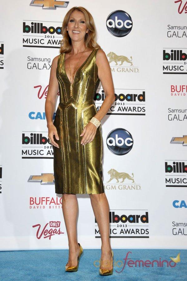 Celine Dion, la dama de los premios Billboard Music Awards
