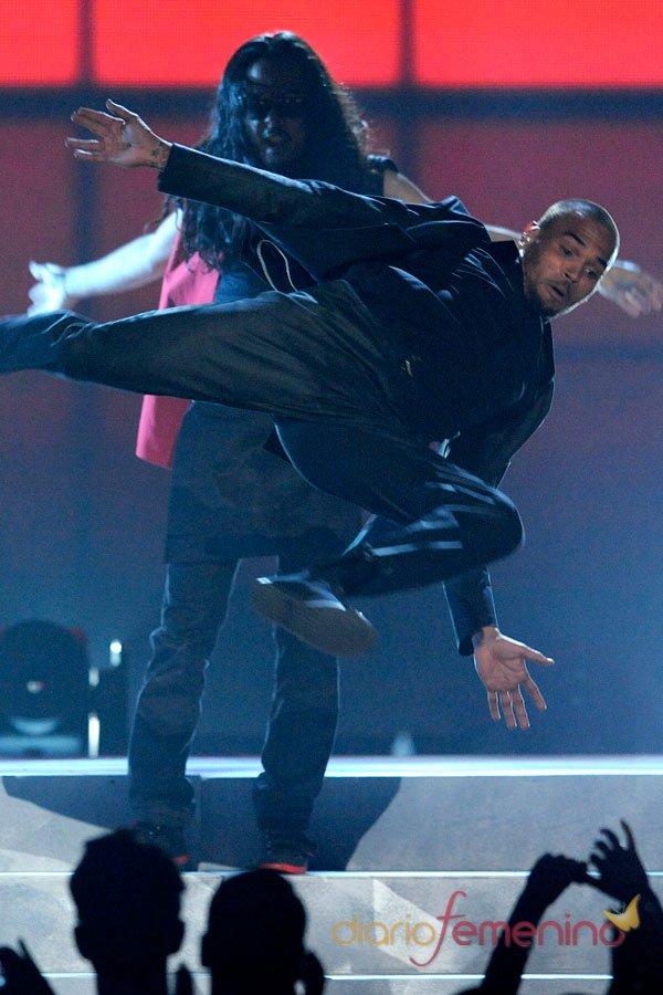 Chris Brown en los premios Billboard Music Awards 2013
