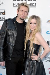 Avril Lavigne, look rocker en los Billboard Music Awards 2013