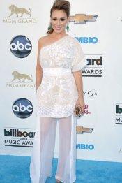 Alyssa Milano, en los premios Billboard Music Awards 2013