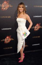 Jennifer Lawrence presenta 'Los juegos del hambre: en llamas' en el Festival de Cannes 2013