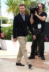Justin Timberlake, muy informal en el Festival de Cannes 2013
