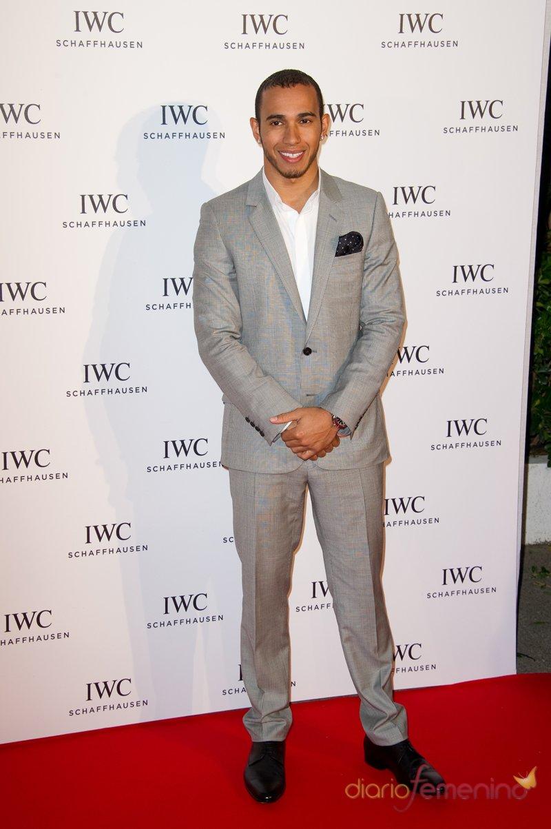 El piloto Lewis Hamilton, estrella invitada en el Festival de Cannes 2013