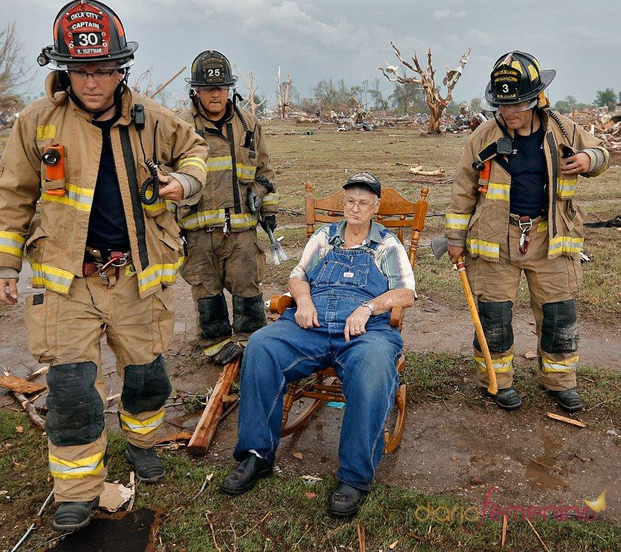Tragedia en Oklahoma: salvados de milagros
