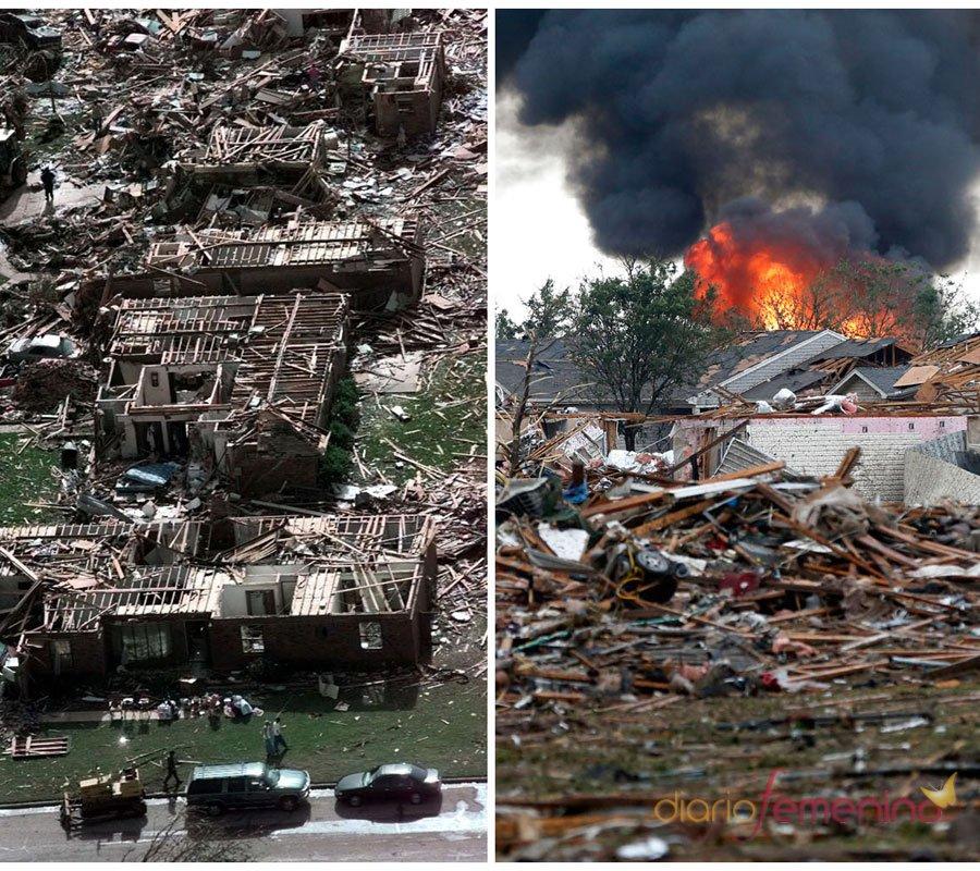 Tornados de Oklahoma: las caras del terror