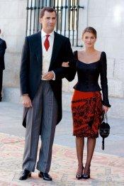 Letizia y el Príncipe: sus looks de boda