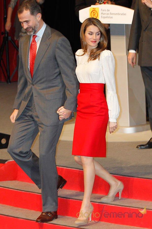 Letizia y el Príncipe Felipe: siempre perfectos y elegantes