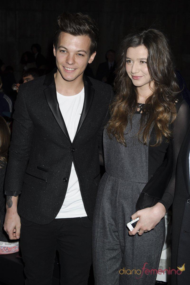 Louis Tomlinson con su novia: Eleanor Calder
