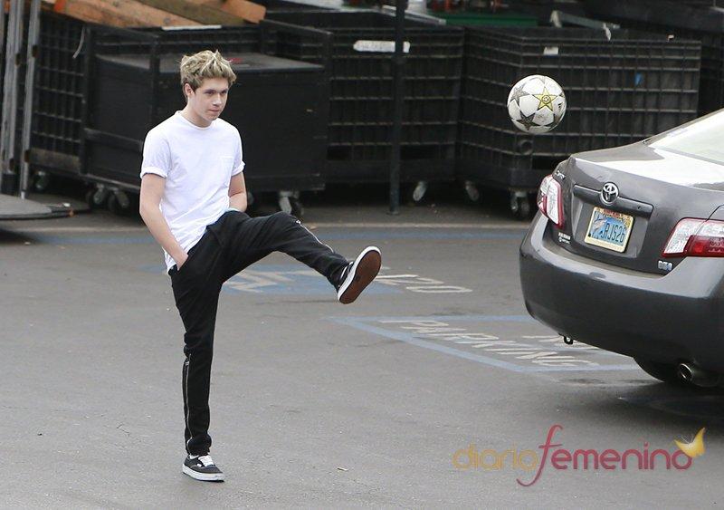 Niall Horan, un gran jugador de futbol