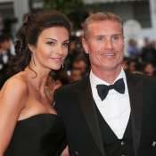 David Coulthard y su esposa en el Festival de Cannes 2013