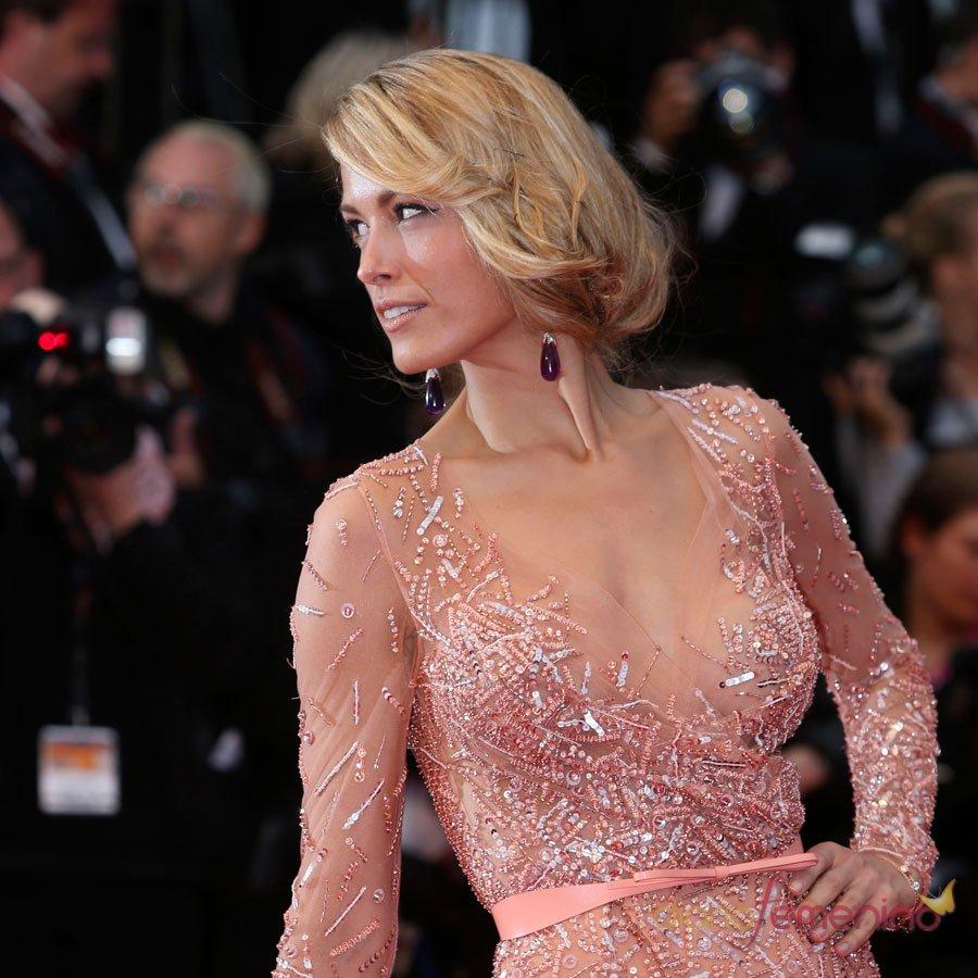 Petra Nemcova, de rosa brillante en Cannes 2013