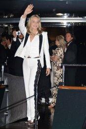 Pantalón de Sharon Stone en Cannes 2013