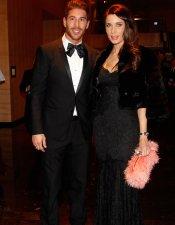 Sergio Ramos y Pilar Rubio: primera aparición estelar