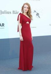 Jessica Chastain, la elegancia personificada en la gala Amfar del Festival de Cannes 2013
