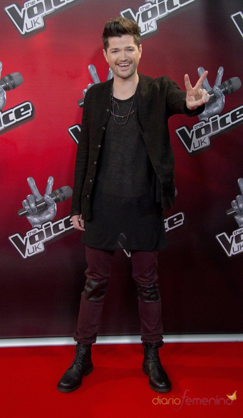 El vocalista de The Script, Danny O'Donoghue, es coach de 'The Voice UK'