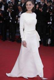 La elegancia en blanco de Marion Cotillard en el Festival de Cannes 2013