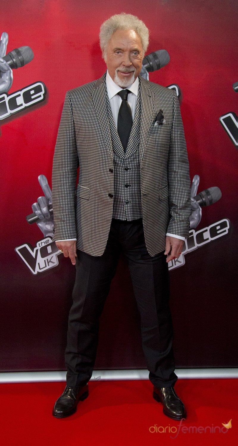 Tom Jones, la leyenda de la música es coach en 'The Voice UK'