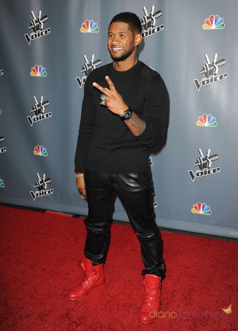 Usher, el coach rapero de 'The Voice' Estados Unidos