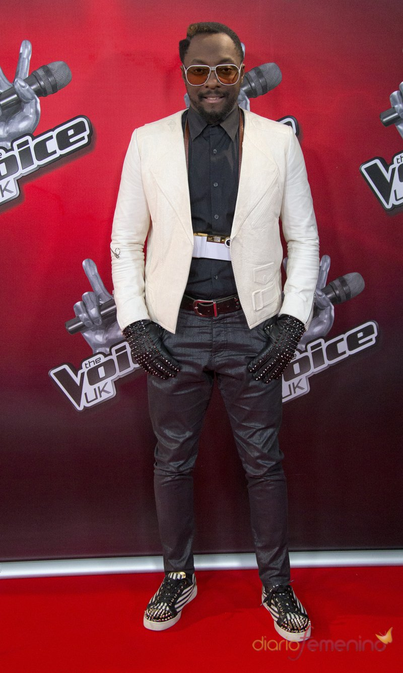 Will.i.am, de The Black Eyed Peas a 'The Voice UK'